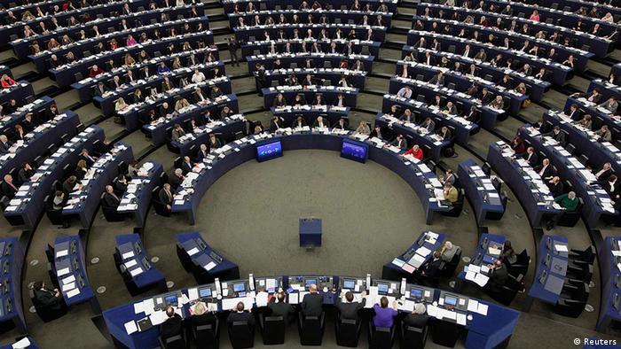 Frankreich Europaparlament in Straßburg