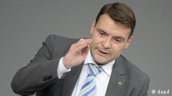 Депутат бундестага от фракции свободных демократов Патрик Курт