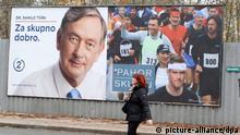 Slowenien Präsidentschaftswahlen