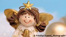 Christkind Figur mit Flügeln(Fotolia/ChaotiC_PhotographY)
