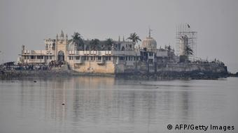 A view of the Haji Ali shrine (Photo: SAJJAD HUSSAIN/AFP/Getty Images)