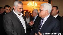 Treffen der Hamas und Fatah in Kairo