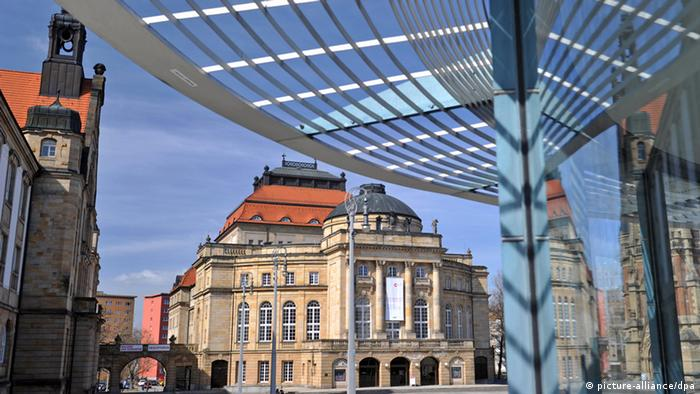 Sächsische Industriemetropole Chemnitz (picture-alliance/dpa)