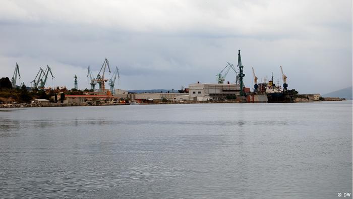 Kroatien Werft Split