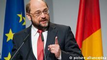 Ο πρόεδρος του Ευρωπαϊκού Κοινοβουλίου Μάρτιν Σουλτς