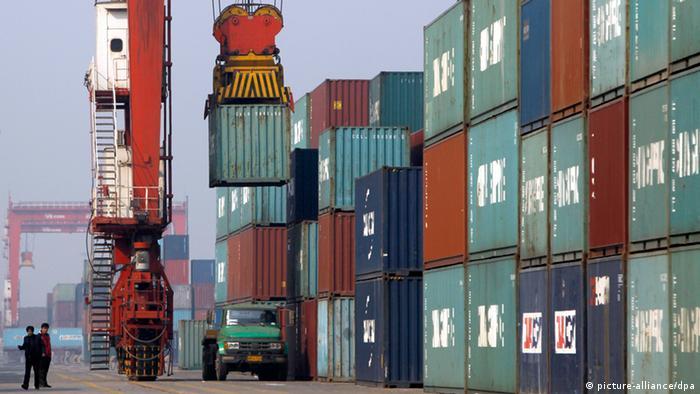 Symbolbild Exporten aus China