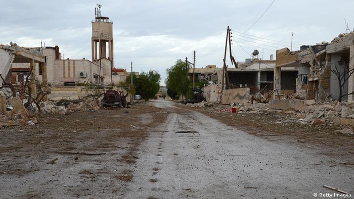 Місто Саракіб у сирійській провінції Ідліб