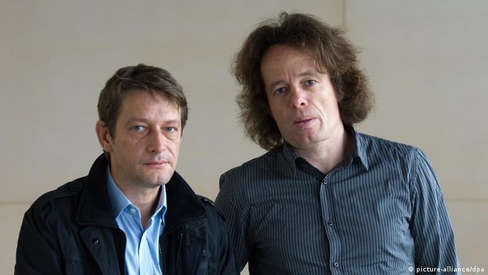 Die freiberuflichen Journalisten Thomas Datt und Arndt Ginzel (Foto: dpa)