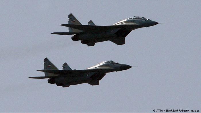MIG 29 Jets Iran (ATTA KENARE/AFP/Getty Images)