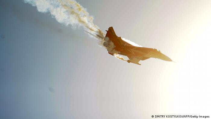 Ein russisches MiG-29 Kampfflugzeug (Foto: DMITRY KOSTYUKOV/AFP/Getty Images)