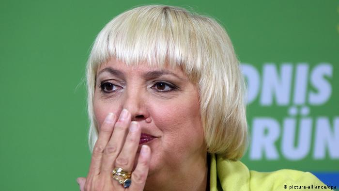 Claudia Roth (Photo via dpa)