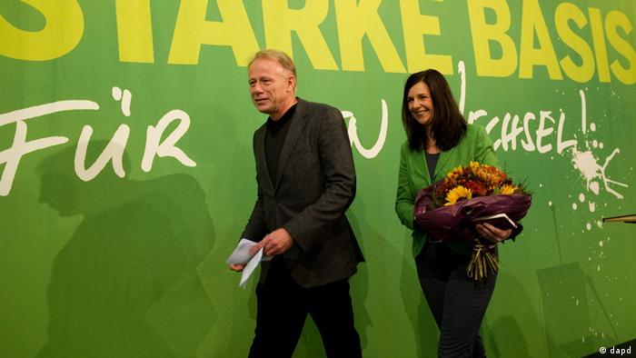 Юрген Триттин и Катрин Гёринг-Эккарт возглавят партийный список зеленых