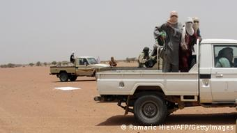 Ansar Dine Kämpfer in Mali