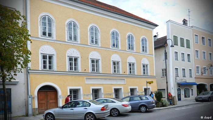 дом гитлера в австрии