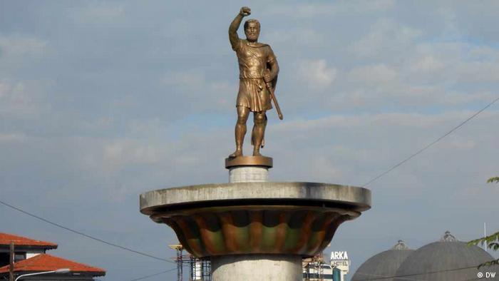Skopje 2014 Denkmal von Philipp II