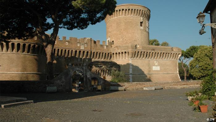 Main picture of Castello Giulio II near Rome, struggling to survive as Italy's cultural budget is cut (Photo: DW correspondent, Jean di Marino, Italy)