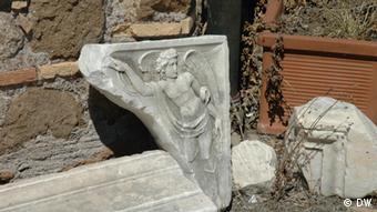 Marble ruins in Castle Julius II near Rome (Photo: DW correspondent, Jean di Marino, Italy)