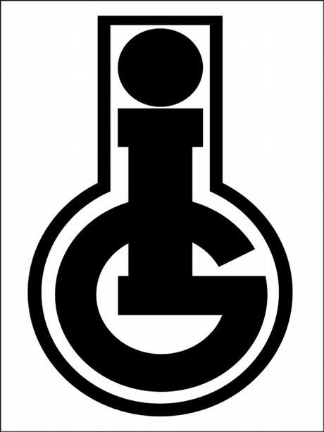 Das Logo der IG Farben