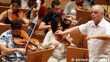 Daniel Barenboim mit dem West-Eastern Divan Orchestra