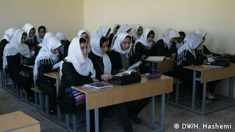 Girls school in Afghanistan (photo: DW/H. Hashemi)