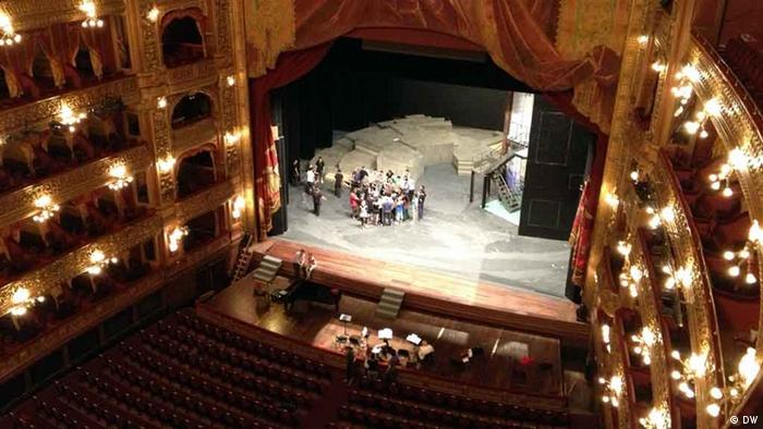 Teatro Colón as seen from the upper level Copyright: HC von Bock/DW