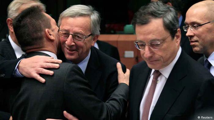 Juncker i Draghi