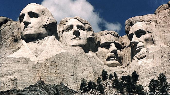 Культова гора Рашмор в США, Copyright: KAREN BLEIER/AFP/Getty Images