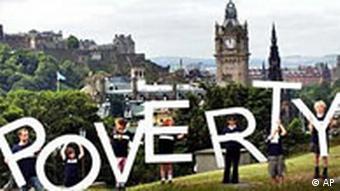 Protest in Edinburgh