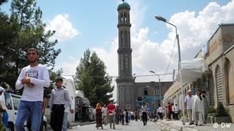 مسجد جامع شهر دوشنبه پایتخت تاجیکستان