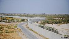 Grenze Iran Pakistan Mauer