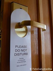 bitte nicht stören schild / hotel © jumedita #25303406