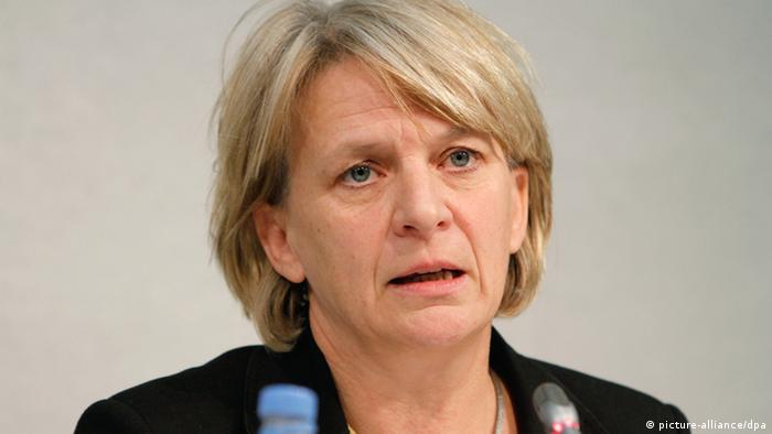 Barbara Unmüssig, head of the Heinrich-Böll Foundation