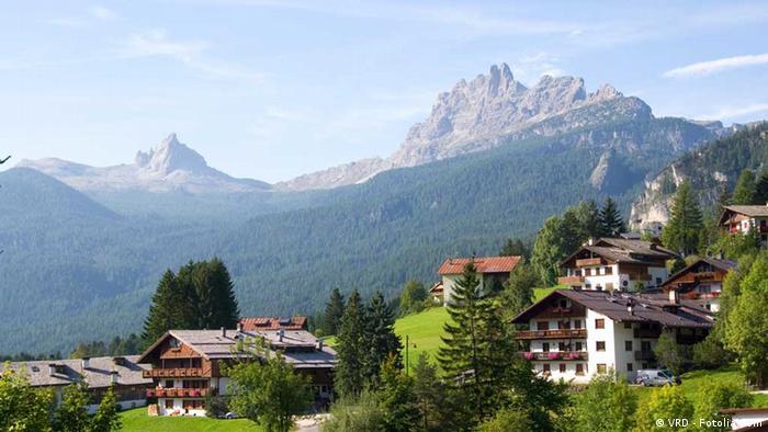 Dolomiten Landschaft (Foto: VRD - Fotolia.com)