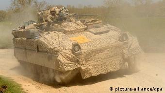 German tank in Afghanistan Photo: Maurizio Gambarini dpa