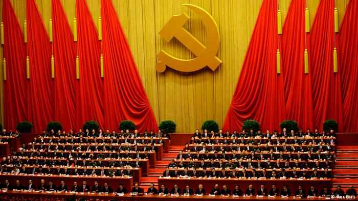 Delegates attend the closing session of 18th National Congress of the Communist Party of China at the Great Hall of the People in Beijing (Photo: REUTERS/Jason Lee)