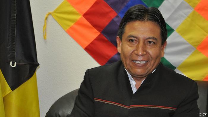 EU Bolivien Außenminister David Choquehuanca in Brüssel