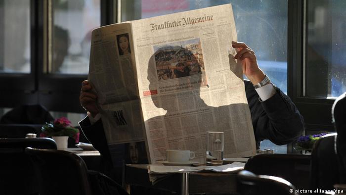 Frankfurter Allgemeine - одна из ведущих немецких газет