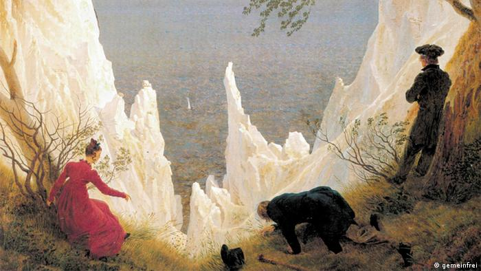 Меловые скалы на картине Каспапа Давида Фридриха