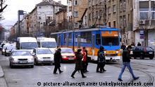 Bulgarien Sofia Straßenszene