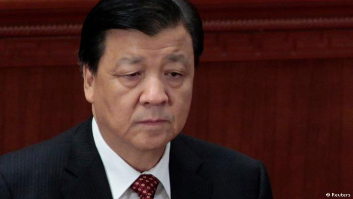Liu Yunshan, Propaganda Minister of China's Communist Party Central Committee, attends the closing ceremony of the National People's Congress (NPC), China's parliament, at the Great Hall of the People in Beijing, in this March 14, 2012 file photo. China's three most powerful men have come up with preferred candidates to head up the nation's incoming new leadership team, sources said, in a ticket that includes financial reformers but leaves a question mark over its commitment to political reform. The seven-member list has been drawn up by past, present and future presidents ahead of a once-in-a-decade leadership change to be finalised next month at the ruling Communist Party's 18th congress, said three sources with ties to senior party leaders. The ticket includes Liu, 65, who has kept domestic media on a tight leash and sought to control China's increasingly unruly Internet which has more than 500 million users. REUTERS/Jason Lee/Files (CHINA - Tags: MEDIA POLITICS)