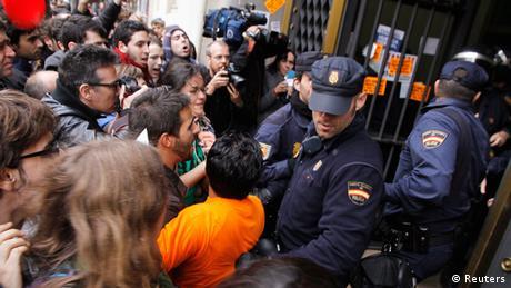 Valencia Generalstreik (Reuters)