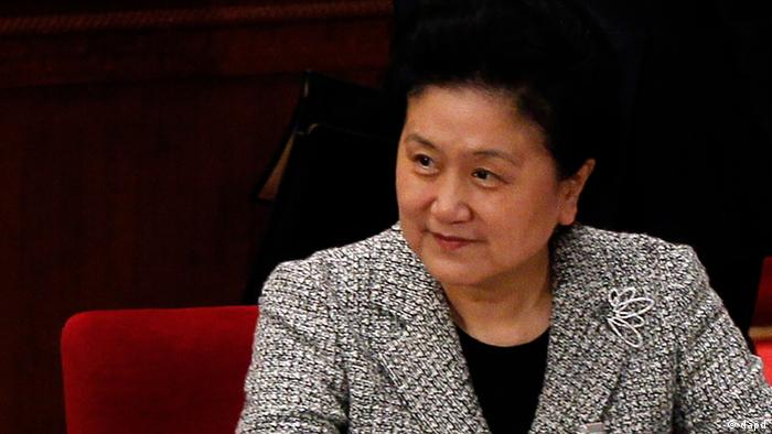 Chinese state councilor Liu Yandong attends a plenary session of the National People's Congress in Beijing, China, Friday, March 9, 2012. (Foto:Ng Han Guan/AP/dapd)