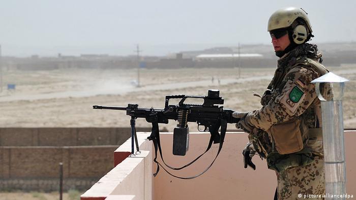 جندي ألماني في أفغانستان ـ صورة من الأرشيف