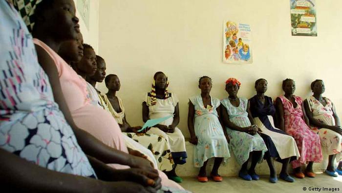 Schwangere Frauen in Äthiopien