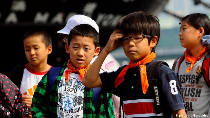 Japanese schoolchildren (Photo: Matthias Tödt)