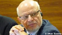 Sitzung des Petersburger Dialogs: Mikhail Fedotov, Koordinator der Arbeitsgruppe Zivilgesellschaft; 15. November 2012, Moskau; Copyright: DW/A. Brenner