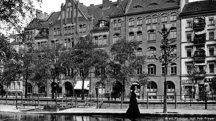 Das Berliner Gewerkschaftshaus am Engeldamm in Berlin Mitte (Foto: erl. Phototyp. Inst. Rob. Prager)