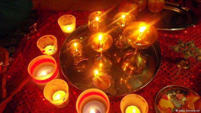 Hinduistsische Fest Diwali
