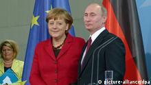 Merkel und Putin in Berlin Archivbild Juni 2012