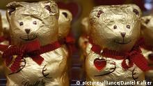 Deutschland Wirtschaft Schokolade Teddybären von Lindt & Sprüngli
